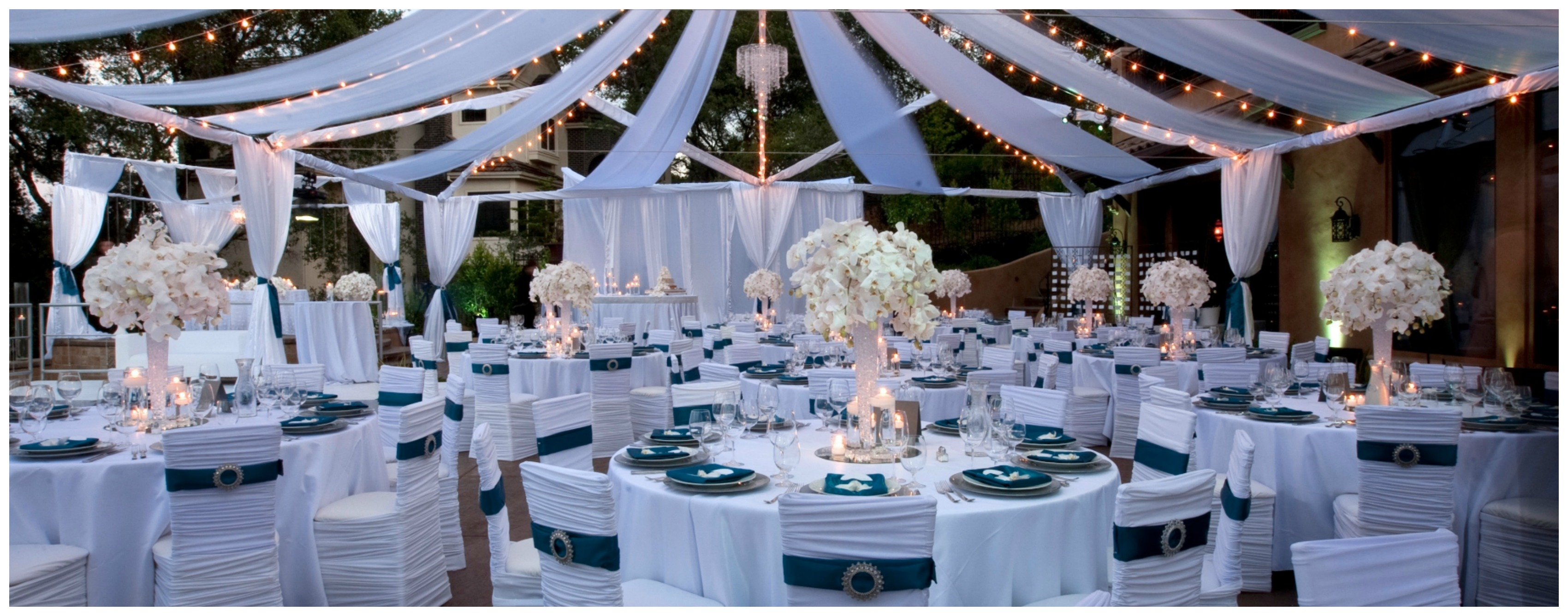 extravagant backyard wedding fearon may events