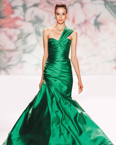 Emerald Green Wedding Dress