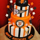 Giants Baseball Birthday Party