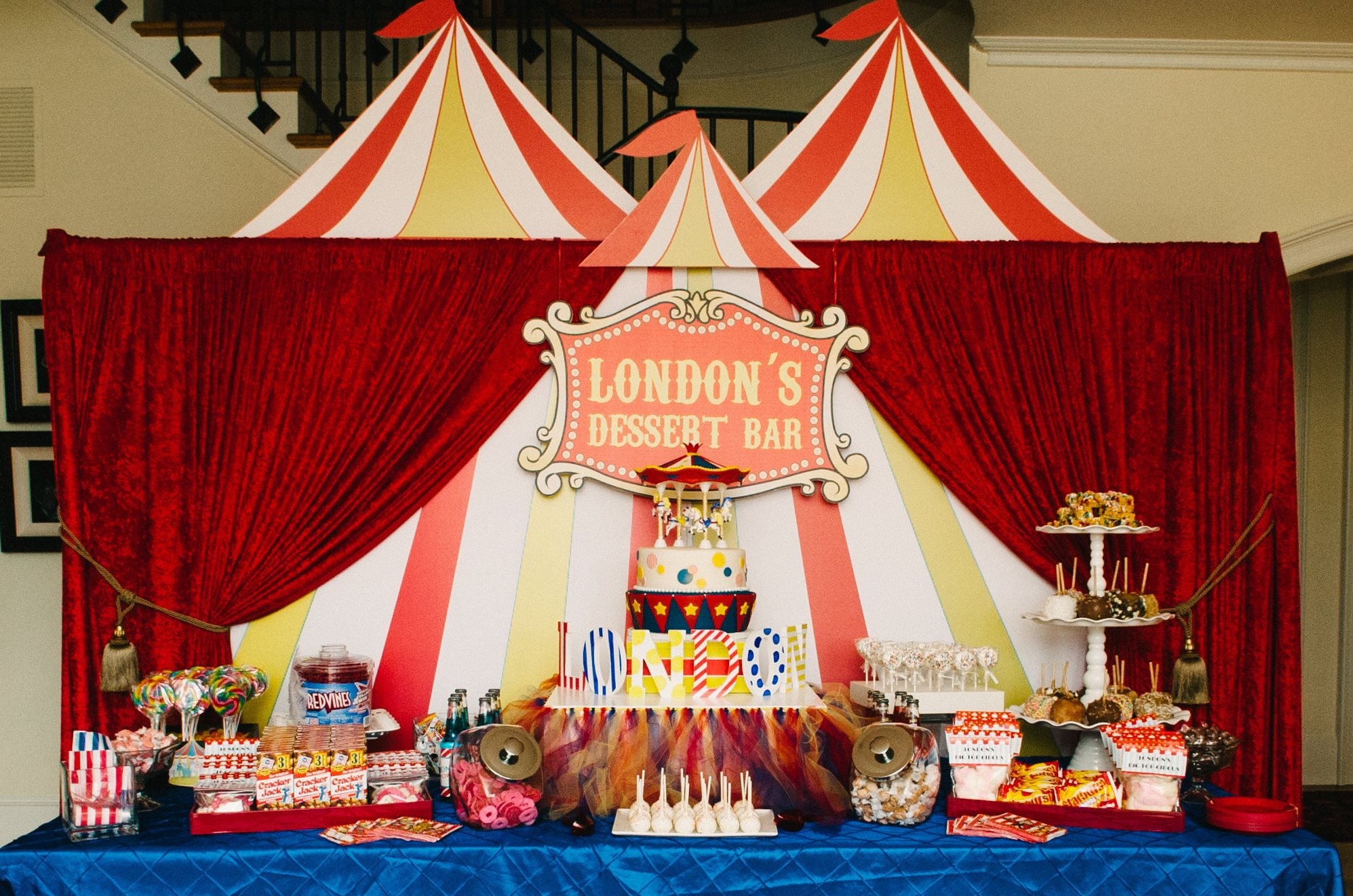 Big Top Circus Dessert Bar