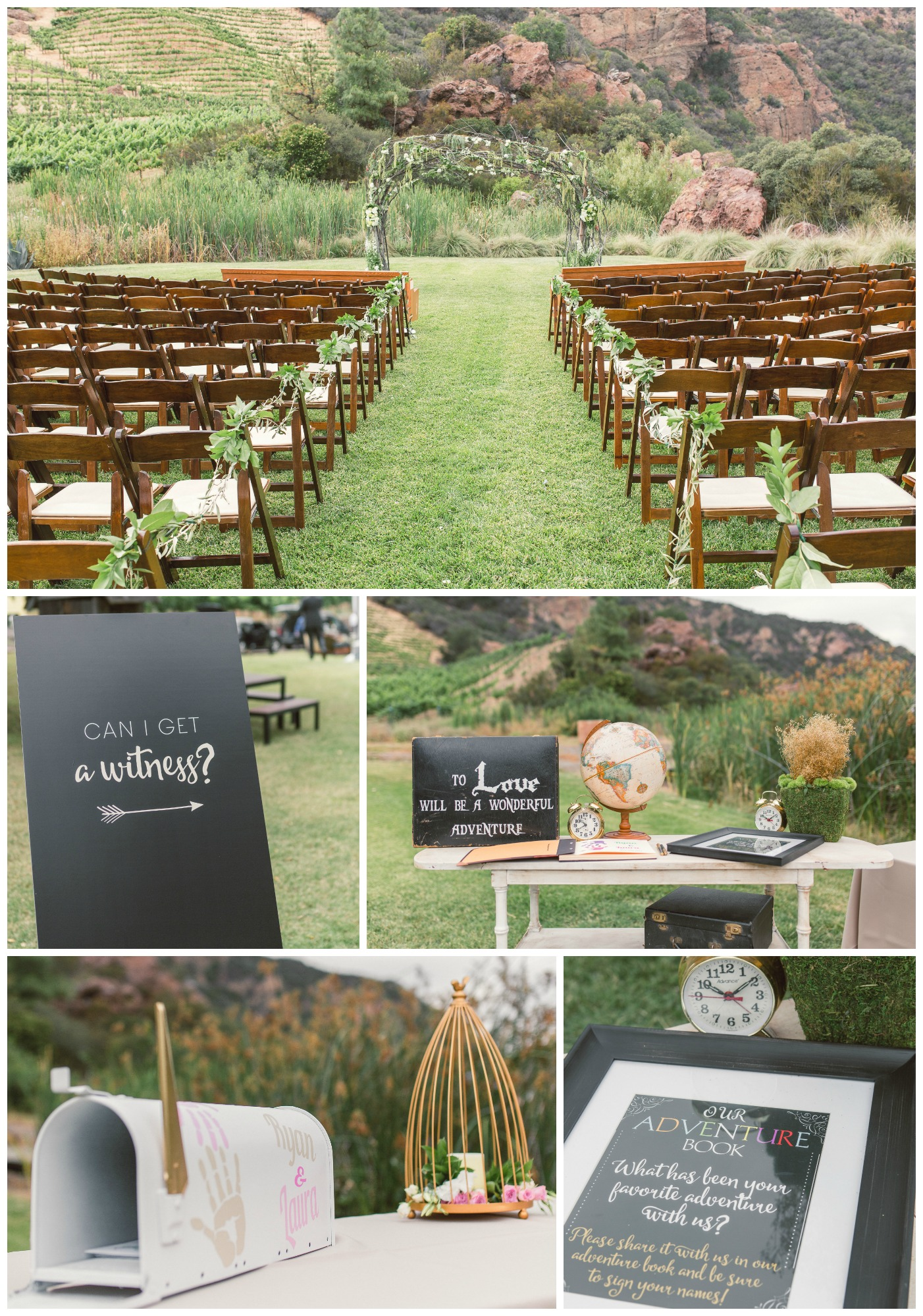 Saddlerock ranch wedding in malibu fearon may events for Malibu house rentals for weddings
