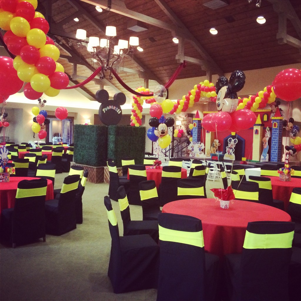 Mickey Mouse Clubhouse Themed Birthday Party Fearon May