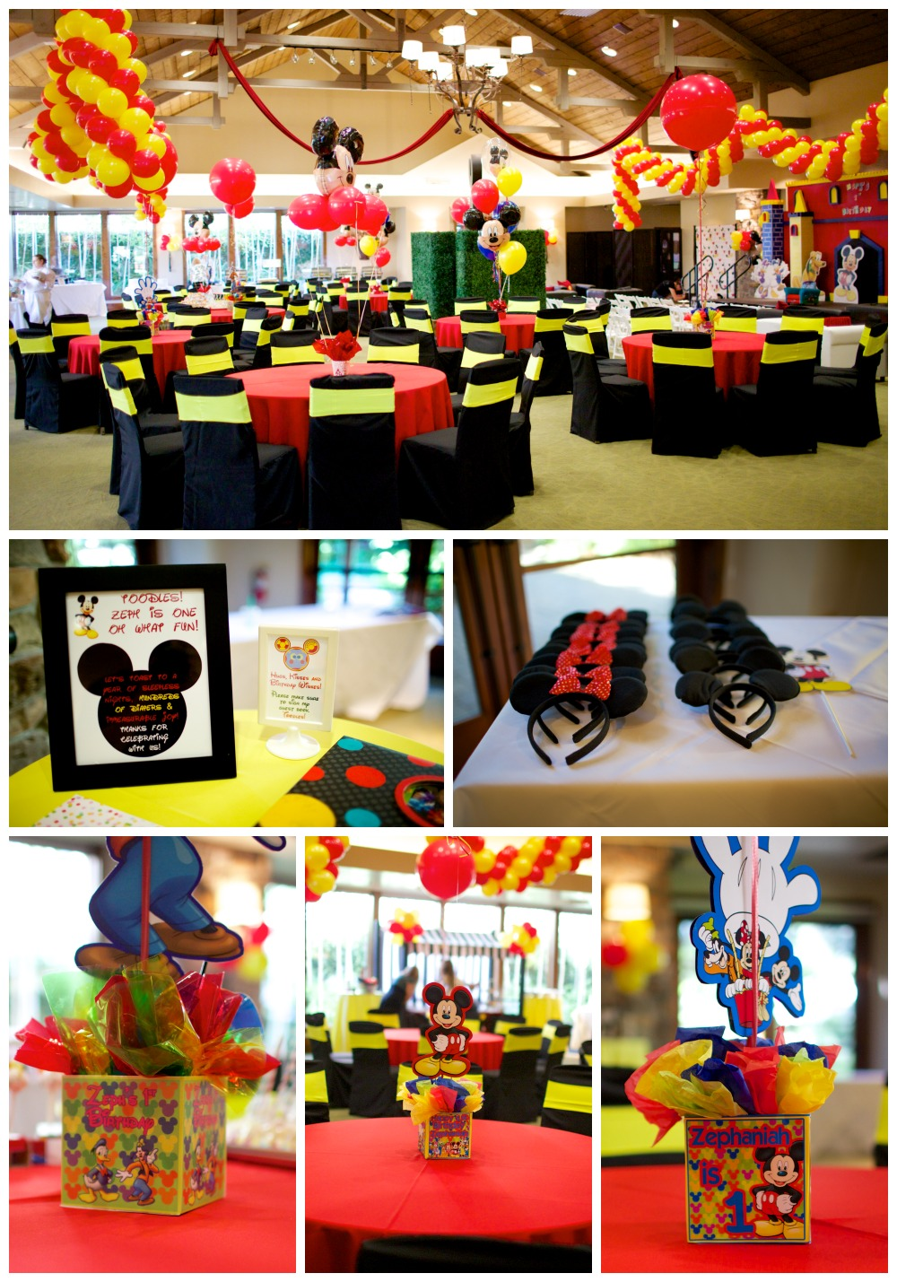 Mickey Mouse Clubhouse Themed Birthday Party Fearon May Events