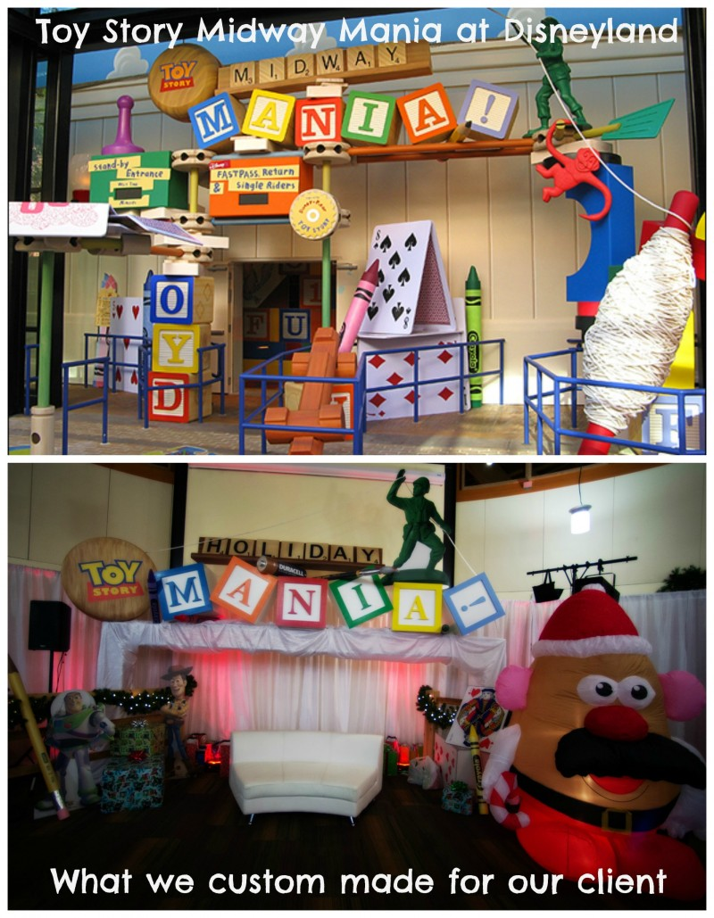 Toy Story Midway Mania Themed Party