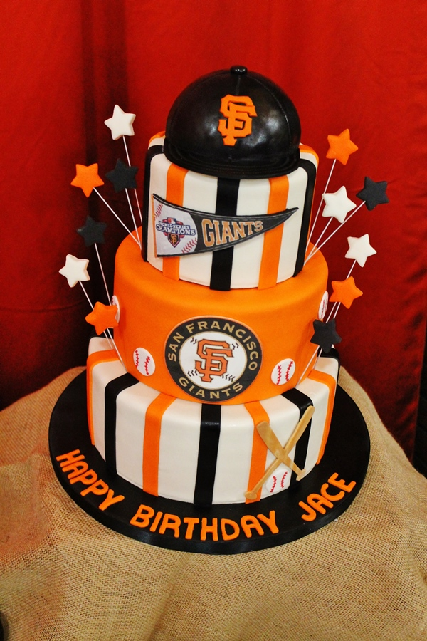 Giants Baseball Birthday Party Fearon May Events